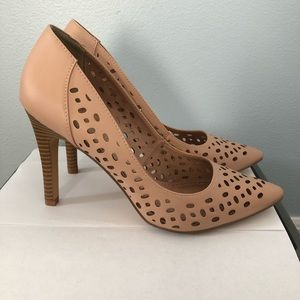 Restricted Blush Pink Pumps